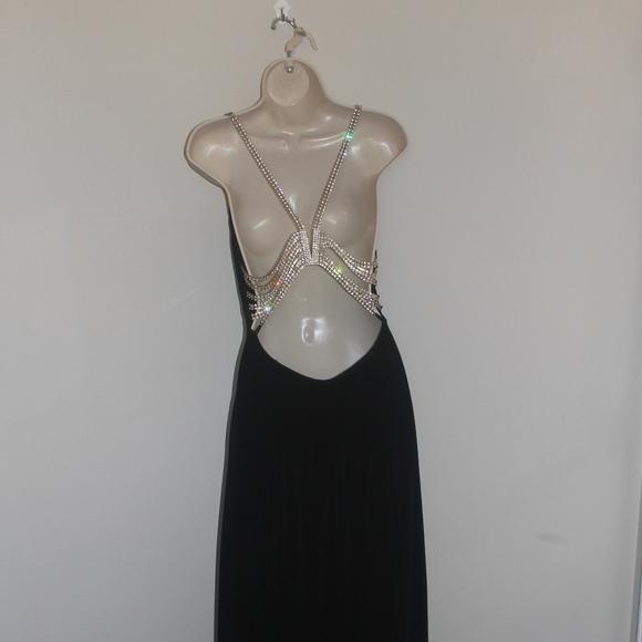 Cache Dresses Black Formal Evening Dress Beaded Lined Poshmark